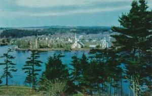 Mahone Bay NS, Nova Scotia, Canada - Seacoast Town on Atlantic Ocean