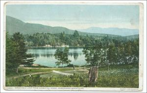 NY - Spectacle Lake  from Hiawatha Lodge, Adirondack Mts