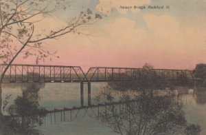 ROCKFORD, Illinois, 1900-10s; Nelson Bridge