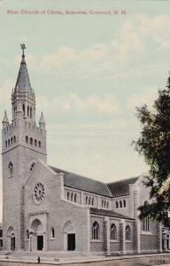 CONCORD , New Hampshire, 00-10s ; First Church of Christ, Scientist