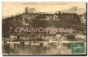 Old Postcard Besancon les Bains Doubs And Citadel Views Des Pres De Vaux