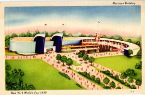 NY - New York World's Fair, 1939. Maritime Building