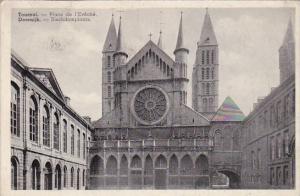 Belgium Tournai Bischdomplaats 1938