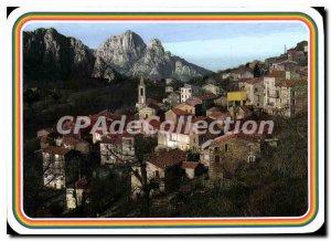 Postcard Modern Evisa And The Spelunca