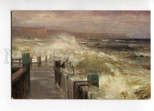 270151 HANZEN GANZEN pier Vintage Russian Lapin postcard