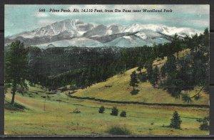 Colorado - Woodland Park - Pikes Peak - Ute Pass - [CO-271]