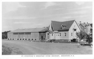 Monastery Nova Scotia St Augustines Minor Seminary Real Photo Postcard K67557