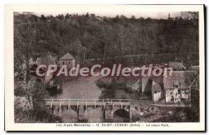 Postcard Old Saint Ceneri Le Vieux Pont