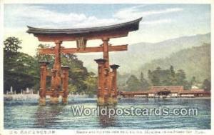 Japan Shrine & Big torii, Miyajima Inland Sea Shrine & Big torii, Miyajima In...