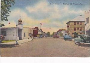 Florida St Cloud Main Street Business Section