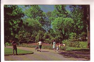 Sunday Afternoon Public Garden, Halifax, Nova Scotia, Len Leiffer