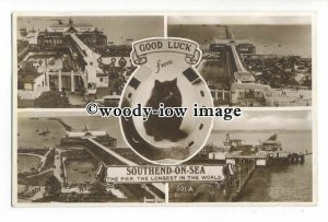 tq1966 - Essex - Multiview x 5, of Various Views  of Southend-on-Sea - Postcard