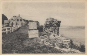 CHATHAM , Massachusetts, 1918; Site of the Old Chatham Lights (Lighthouse)
