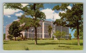 Savannah MO-Missouri, Dr Nichols Sanatorium Vintage Postcard