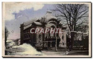 Old Postcard Evreux Eure The Theater