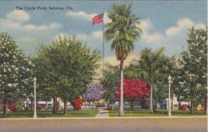 Florida Sebring  The Circle Park Curteich