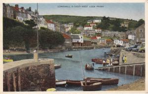 Postcard Cornwall & East-West Looe Ferry