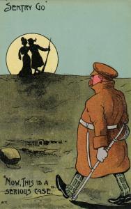 UK Comic Military; 1900-10s ; Sentry Go