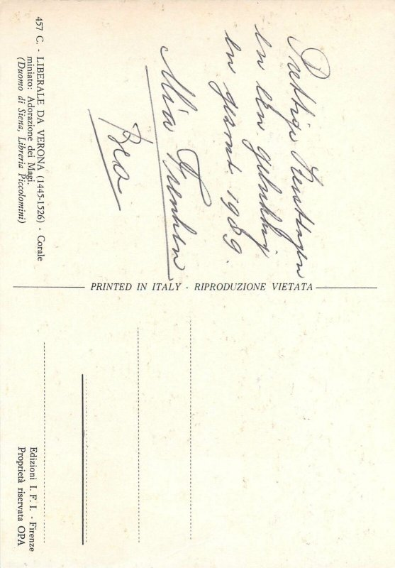 Postcard Germany Liberale da Verona