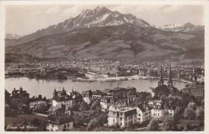RP; Luzern mit Pilatus, Switzrerland, 10-20s