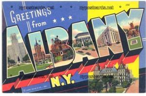 Greetings, Albany NY