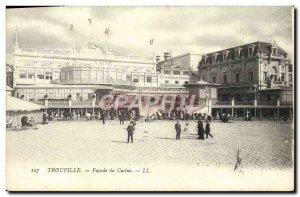 Old Postcard Trouville Casino Facade