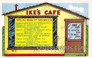 Postcard Ike's Café
