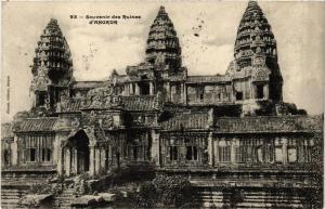 CPA Souvenir des Ruines d'Angkor. CAMBODGE Indochine (714962)