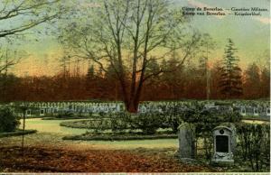 Belgium - Leopoldsburg. Camp Beverloo. Military Cemetery