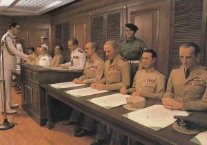 Singapore Sentosa Japanese Surrender Chambers War Waxwork Postcard
