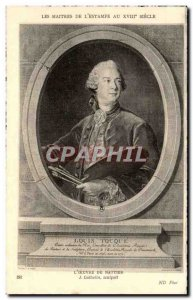 Old Postcard The Master Of The XVIII Century Print On The Work Of Nattier J C...