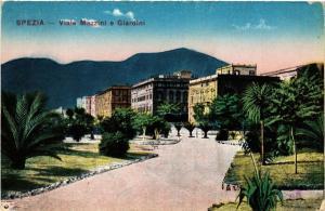 CPA SPEZIA Viale Mazzini e giardini. ITALY (530880)