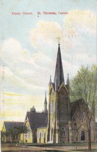 ST. THOMAS , Ontario , Canada , PU-1907; Trinity Church