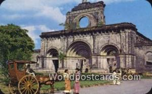 Philippines, Pilipinas Ruins of the Cathedral, Walled City Manila Ruins of th...