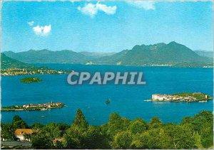 Postcard Modern Lago Maggiore Le Isole Borromeo