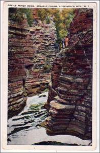 Devils Punch Bowl, Ausable Chasm, Adirondack Mts