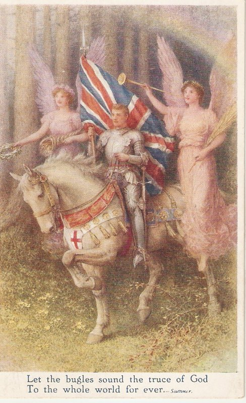 Howard Davie. . The True Knight Tuck The Victorious Peace Ser. PC # P2381