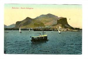 Palermo - Monte Pellegrino, Italy, Steamship, 00-10s