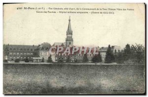 Old Postcard Saint Pern Vue Generale West Coast of the community of the tower...