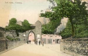 UK - Wales, Conway. Toll Gate