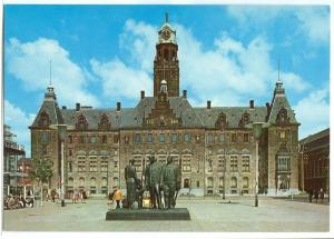 Netherlands, Rotterdam, Stadhuis, 1960s unused Postcard