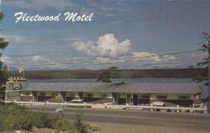 Exterior,  Fleetwood Motel,  Campbell River,  B.C.,  Canada,  40-60s