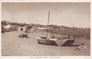 TUCK, Bay looking East, Felixstowe, England, 1900-10s