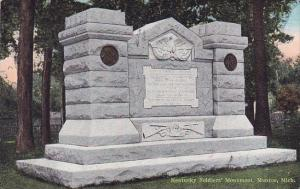 Kentucky Soldiers Monument Monroe Michigan