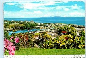 Suva Fiji Vintage 4x6 Postcard E16