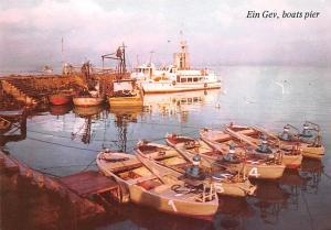 Ein Gev Israel Boats Pier Ein Gev Boats Pier