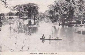 Illinois Rock Falls Howland Creek