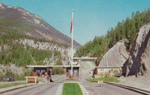 Entrance to KOOTENAY NATIONAL PARK, B.C., 1950-60s