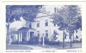 Locust Lawn Guest House, Westfield, New York, 1954 PU