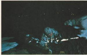 Falkland Islands  ; 1982 ;  SBS Commando scales a cliff by night